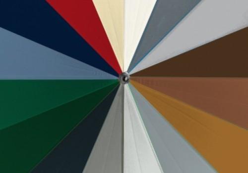 Zijdelingse garagedeur Hörmann kleuren
