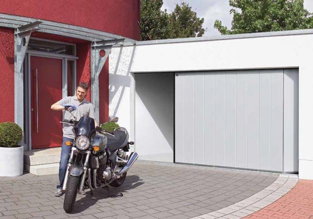 Zijdelingse garagedeur Hörmann